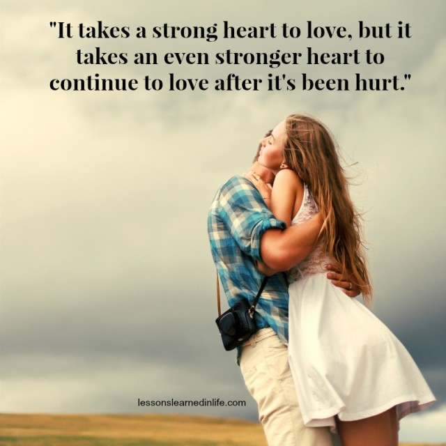 Lessons Learned In LifeStrong Heart.