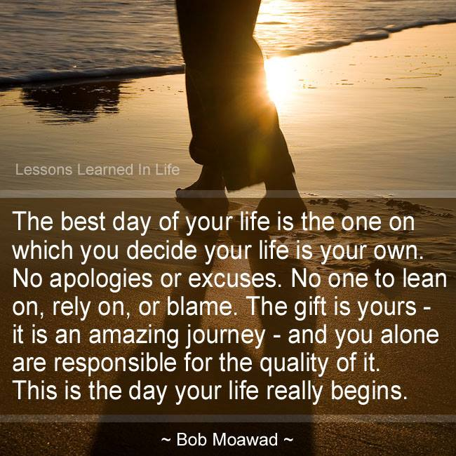 Best Lesson From Life Quotes: Lessons Learned In LifeThe Gift Is Yours.