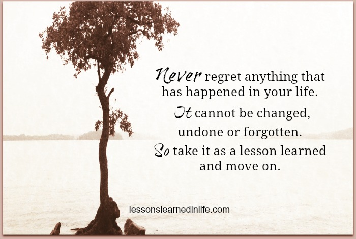 Lessons Learned In LifeTake It As A Lesson.
